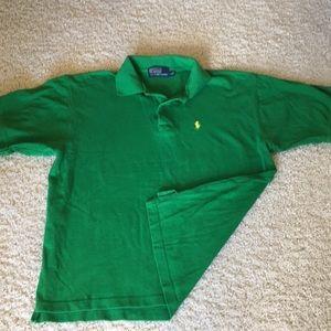 Short Sleeve Mesh Polo Shirt